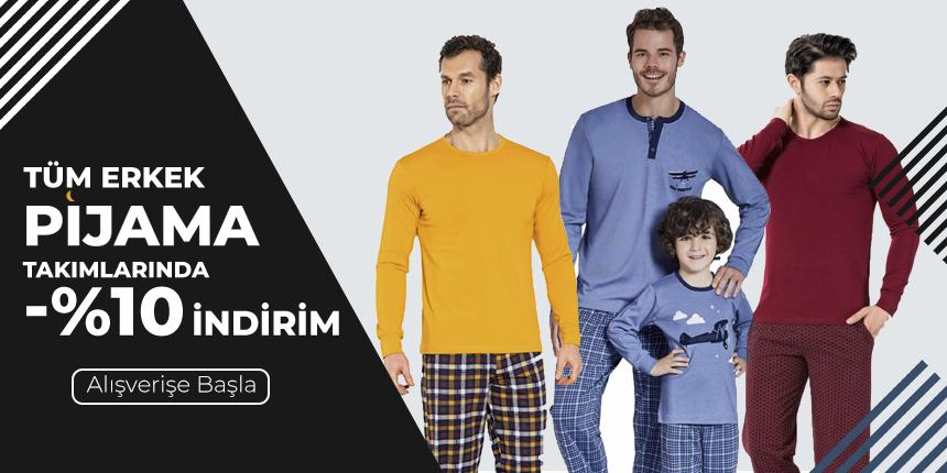 Erkek Pijama Takımları %10 İndirimli
